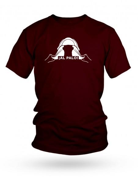 Camiseta Costalero Granate ¡AL PALO!
