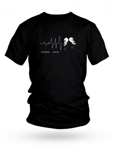 Camiseta Costalero Negra TO' POR IGUAL