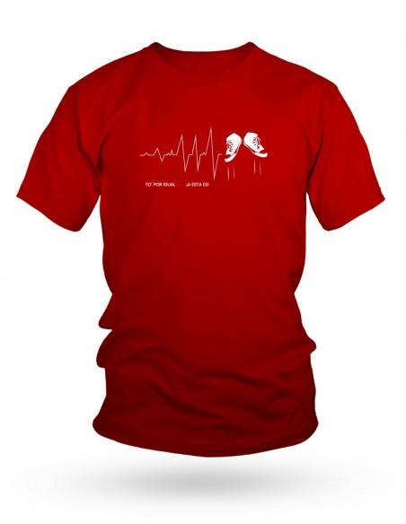 Camiseta Costalero Roja TO' POR IGUAL