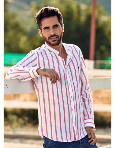 Camisa Rayas Rojas La Jaca