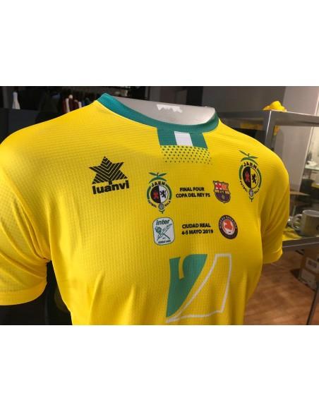 Camiseta Copa España Fútbol Sala 2019