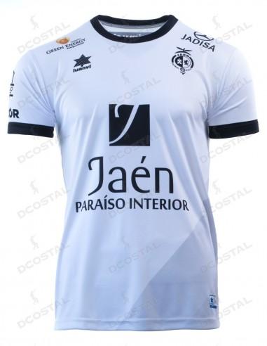 Camiseta Juego Blanca Jaén Paraíso Interior Fútbol Sala 2019/2020