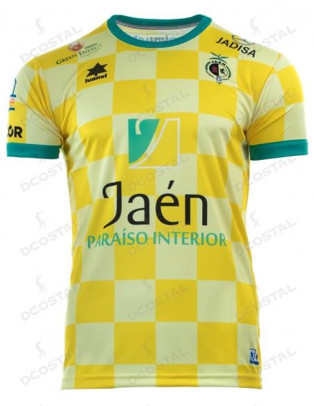 Camiseta Juego Amarilla 19/20 Jaén Paraíso Interior FS