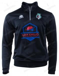Sudadera Paseo Negra Jaén Paraíso Interior Fútbol Sala