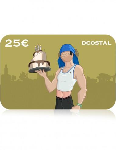 E-Cheque Regalo Cumpleaños 25€