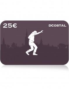E-Cheque Regalo DCOSTAL 25€