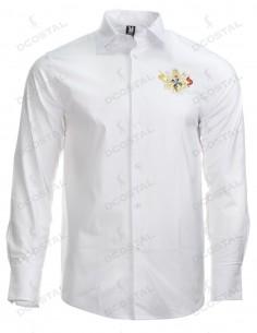 Camiseta Blanca Filo Negro