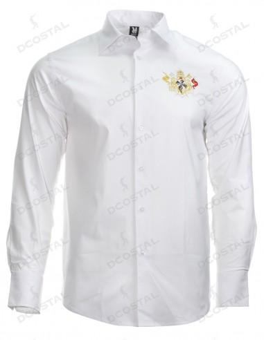 Camisa Costaleros Rosario (GRANADA) Blanca