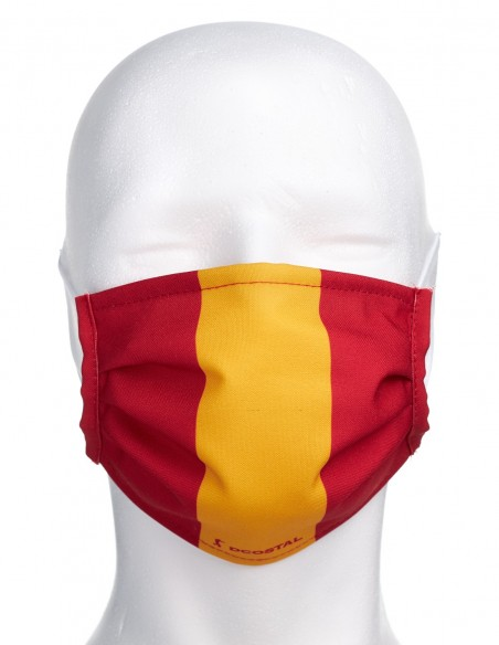 Mascarilla Higiénica Reutilizable con Bandera de España