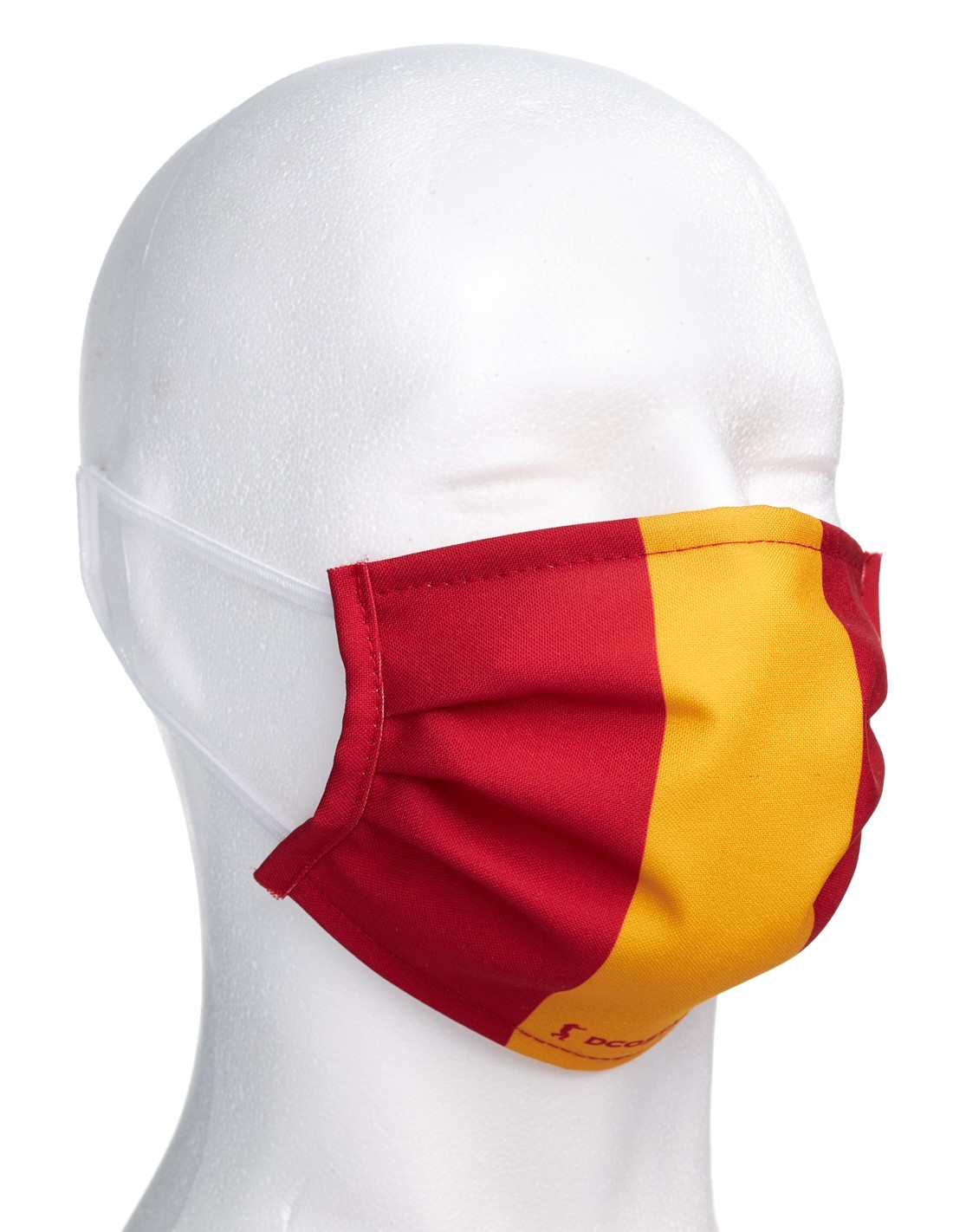 Mascarilla con la Bandera de España color Verde Militar y Azul Envío Rapidos!