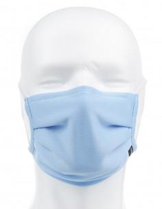 Mascarilla Higiénica Reutilizable Azul Claro 72 Lavados