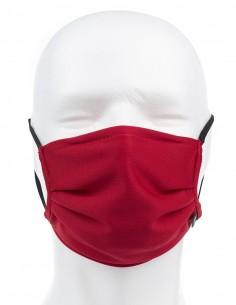 Mascarilla Higiénica Reutilizable Roja 72 Lavados