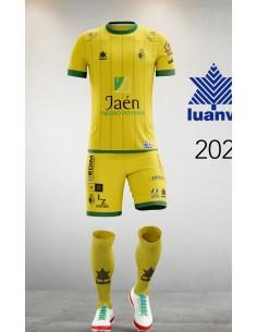 Camiseta Juego Amarilla 20/21 Jaén Paraíso Interior FS