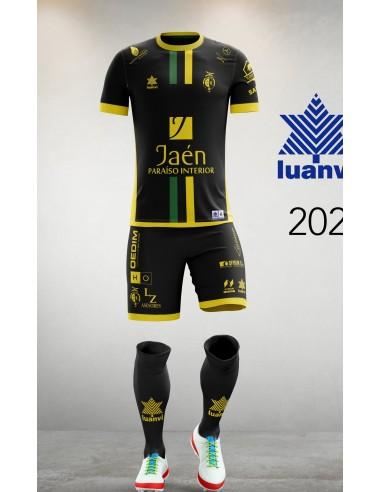Camiseta Juego Negra 20/21 Jaén Paraíso Interior FS