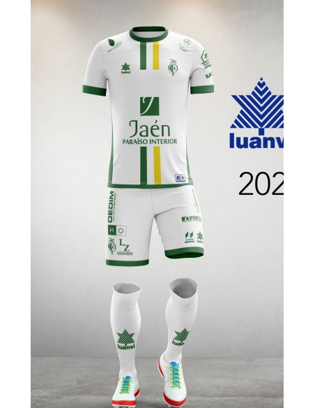 Camiseta Juego Blanca 20/21 Jaén Paraíso Interior FS