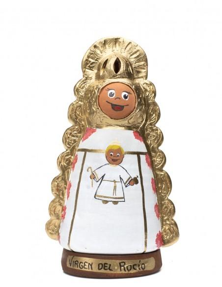 Incensario Cerámica Virgen del Rocío