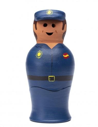 Incensario Cerámica Policía Nacional