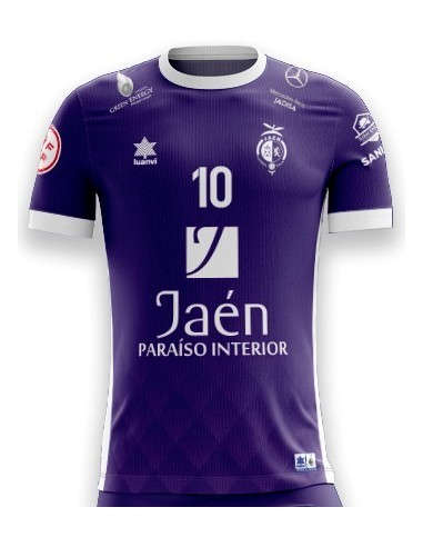 Camiseta Juego Morada 21/22 Jaén Paraíso Interior Fútbol Sala
