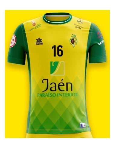Camiseta Juego Amarilla 21/22 Jaén Paraíso Interior Fútbol Sala