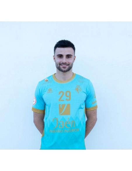 Camiseta Juego Verde Agua 21/22 Jaén Paraíso Interior Fútbol Sala
