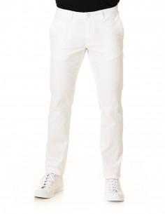 Pantalón Chino Slim Blanco