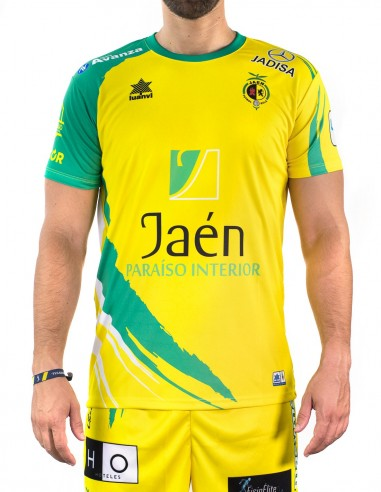 8f30f88d09e72 Camiseta Juego Amarilla Jaén Paraíso Interior Fútbol Sala