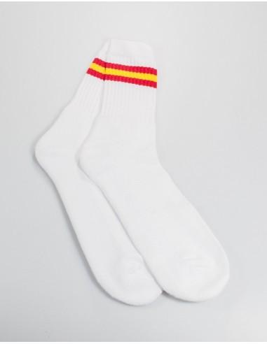 Calcetines Costalero Blancos Bandera España