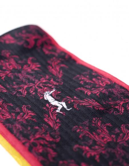 Calcetines Costalero Negro y Rojo Sky
